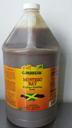 1 Gallon of Truly Caribbean Montego Bay Sauce
