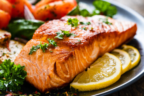 Delicious and Healthy Baked Salmon
