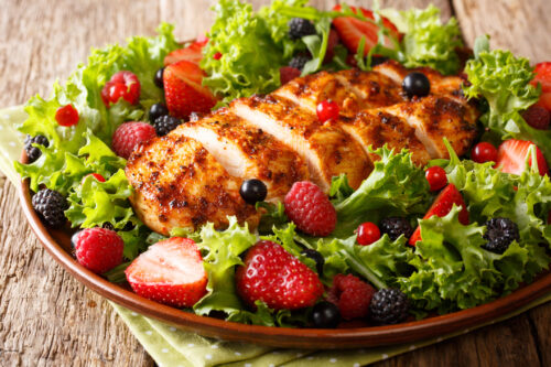 Easy Baked Chicken Salad